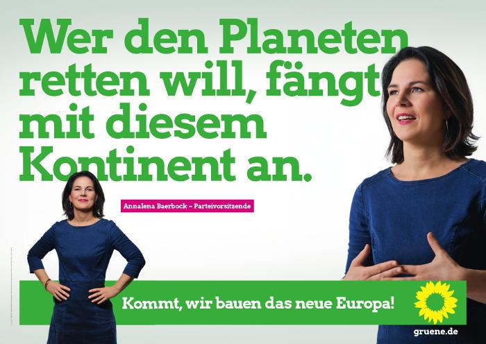 Europawahl 2019 Annalena Baerbock