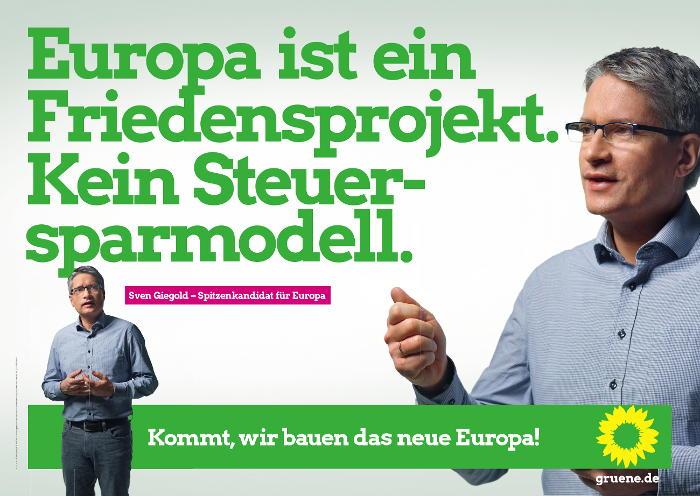 Europawahl 2019 Sven Giegold