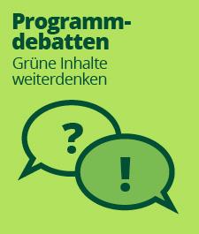 grüne Programmdebatte